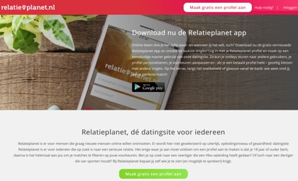relatieplanet website