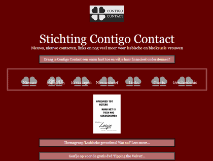 website contigo contact